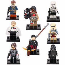 Rogue One Star Wars Jyn Erso Baze Orson Trooper 8 Minifigures Building Toys lEGO