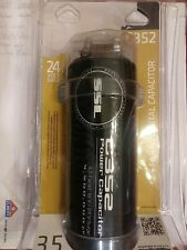 New listing 3.5 Farad Ssl C352 Car Audio Capacitor Red Digital Voltage Display
