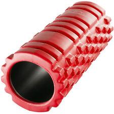 Rullo Massaggio Yoga Pilates Foam Roller Schiuma Massaggiante Muscoli Rosso