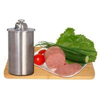 1L Ham Maker Homemade Cooker Stainless Steel Meat Press With A Thermometer
