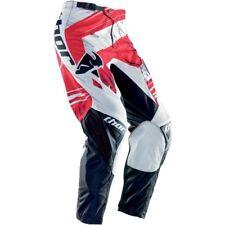 PANTALONE THOR S4 SWIPE RED -  MTB RACE MOTOCROSS ENDURO MX OFF ROAD TROUSERS