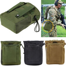 Tactical Dump Drop Pouch Magazine Pouch Military Hunting Airsoft Gun Accessories