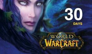 World Of Warcraft - Game Time 30 Day Reigion US/NA