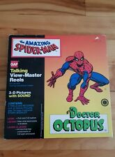 Spiderman talking view master 1979 doctor octopus, 3-d pictures and sound