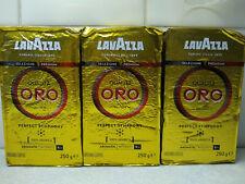 3 packs x Lavazza Qualità Oro Coffee 100% Arabica