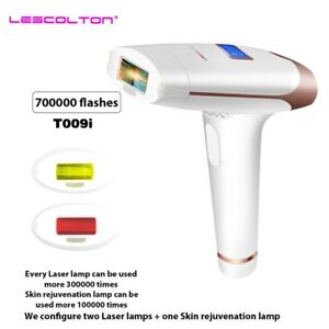 Lescolton 3in1 700000 pulsed IPL Laser Hair Removal Device Permanent Hair Remova