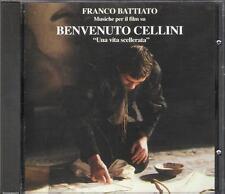 """FRANCO BATTIATO - CD FUORI CATALOGO """" BENVENUTO CELLINI  UNA VITA SCELLERATA """""""