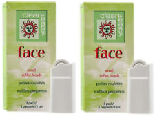 clean + easy Face Small Roller Heads 2 - Packs  #41637