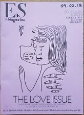 The Love Issue - cover 4 by David Shrigley – ES magazine – 9 February 2018