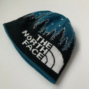The North Face Anders Beanie Youth Black Egyptian Reversible Youth Small