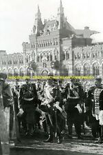 mm513 - Czar Nicholas II Romanov at Red Square in 1913 -  photo 6x4""