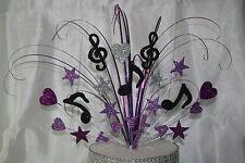 0100 Music Note Musicali Qualsiasi Età Cake topper Torta di Compleanno Decorazione Spray