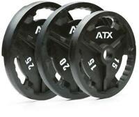 Hantelscheiben Guss ATX Qualitä 50mm 0,5-40kg Sport Fitness Hometraining Hanteln