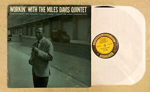 MILES DAVIS: Workin' With LP Prestige PRLP 7166 New Jersey RVG