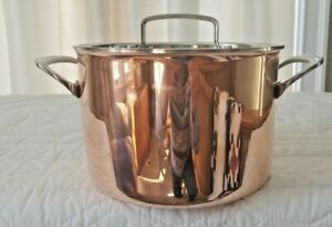 Cuisinart Copper 6 Quart Stockpot & Lid New, Excellent Condition (No Box)