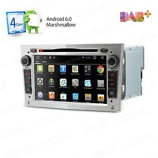 "7"" HD ANDROID 6.0 CAR CD DVD PLAYER STEREO GPS DAB+ OPEL VAUXHALL ASTRA H CORSA"
