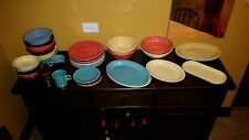Lot of 38 Piece Fiesta Fiestaware Dinnerware