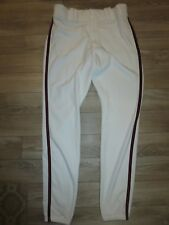 Atlanta Braves #8 MLB Majestic Game Used Worn Baseball Pants W37-39