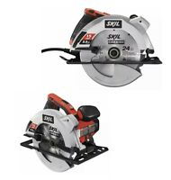 "Skil Circular Saw w/ Laser Guide 15 AMP Electric 7-1/4"" Blade W/ SKILL CARRY BAG"