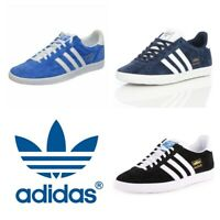 Adidas Originals Gazelle Mens Trainers Casual Shoes OG Suede Leather Black