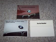 1983 BMW 528e 533i 5 Series Factory Original Owner's Owner User Guide Manual Set