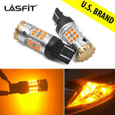 LED Front Turu Signal Light Amber for Subaru Legacy 2018 2019 W Canbus 7443 Bulb