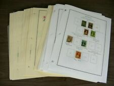 NEW ZEALAND, Excellent Stamp Collection hinged on pages