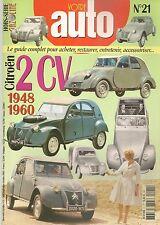 GAZOLINE HS 21 CITROEN 2CV 1948 1960 HORS SERIE