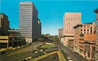 Autos 1960s St Paul's Place Preston Gardens Traub Colorpicture postcard 246