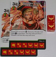 2 x WONDER GIRL: ARES'S CHAMPION 79 Green Arrow and The Flash Dice Masters