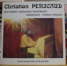 CHRISTIAN PENICAUD CONCERT DONNE A PARIS LE 28/05/1983 LP LE KIOSQUE D'ORPHEE