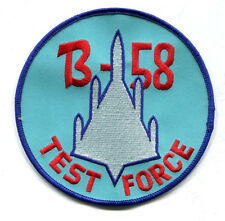 BEAUTIFUL 5 inch B-58 Hustler Patch USAF Convair Supersonic Delta Wing Bomber