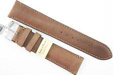 MORELLATO Uhrenarmband 20mm Kalbsleder Braun Handgefertigt Hochwertige