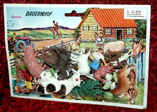 Ferme Ranch Set Animaux vintage neuf dans sa boîte 70er Hong Kong Piñata heinerle