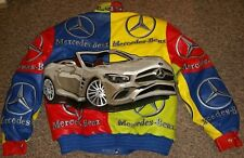 JEFF HAMILTON / MAMMOTH MERCEDES SL-450 ITALIAN LAMBSKIN JACKET LIMITED EDITION