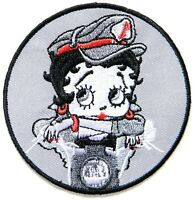 """BETTY BOOP/""""  Embroidered 2-5//8 x 2-5//8 Iron On PATCH K@@L"""