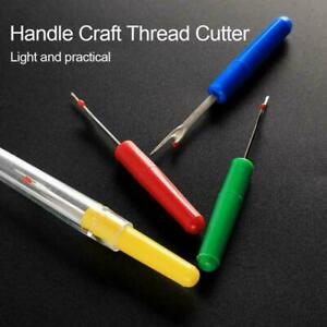 1Pcs Pointed Stitches Removed Tool Plastic Handle DIY Thread Muti-Function K8W6