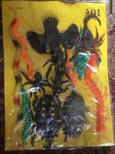 Vintage Rubber Oily Jiggler Lot Hong Kong Vending Bugs And Reptiles