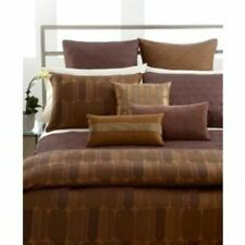 Hotel Collection Otto Brown Rustcopper King Duvet
