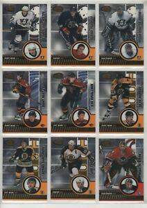 2003-04 Pacific Invincible Hockey Complete 100 Card Hobby Base Set