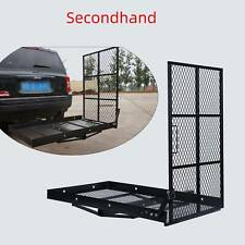 Secondhand Wheelchair Carrier Mobility Foldable Rack Disability Ramp 440lbs