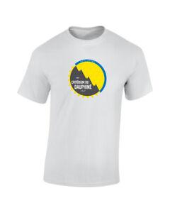 Criterium du Dauphine Cycling Race TdF Mens Printed Cotton T-Shirt