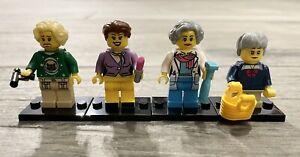 The Golden Girls Minifigures Building Blocks Set