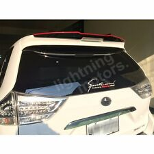 Unpainted For TOYOTA Sienna XL30  Add-on Roof Spoiler 2011-2016 (FRP)