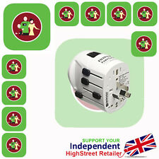 Fujifilm Powersafe Worldwide Earthed Travel Adapter BRAND NEW **UK SELLER**
