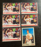 Ryan Helsley RC Lot(6) 2019 Topps St. Louis Cardinals