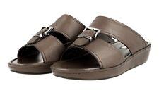 4a3b74809 Authentic PRADA Saffiano Sandals Shoes 2X2938 CAFFE US 13 EU 46 46 5