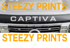 Holden Captiva Lip Bonnet Protector Decal Sticker Vinyl