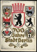 GERMANY THIRD REICH  POSTCARD COVER  BERLIN 1937