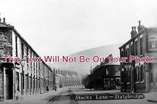 CH 823 - Stocks Lane, Stalybridge, Cheshire - 6x4 Photo